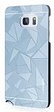 Motomo Prizma Samsung Galaxy Note 5 Metal Rubber Silver Kılıf