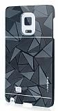 Motomo Prizma Samsung Galaxy Note Edge Metal Siyah Rubber Kılıf