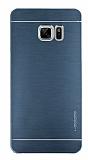 Motomo Samsung Galaxy Note FE Metal Lacivert Rubber Kılıf