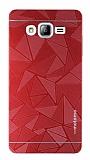 Motomo Prizma Samsung Galaxy On7 Prizma Metal K�rm�z� Rubber K�l�f