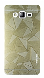 Motomo Prizma Samsung Galaxy On7 Prizma Metal Gold Rubber K�l�f