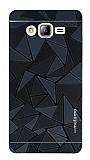 Motomo Prizma Samsung Galaxy On7 Prizma Metal Siyah Rubber K�l�f