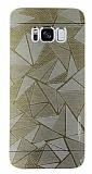 Motomo Prizma Samsung Galaxy S8 Metal Gold Rubber Kılıf