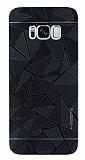 Motomo Prizma Samsung Galaxy S8 Plus Metal Siyah Rubber Kılıf