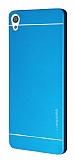 Motomo Sony Xperia XA Metal Mavi Rubber Kılıf