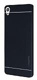 Motomo Sony Xperia XA Metal Siyah Rubber Kılıf