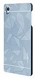 Motomo Prizma Sony Xperia Z3 Plus Metal Silver Rubber Kılıf
