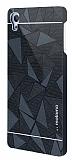 Motomo Prizma Sony Xperia Z3 Plus Metal Siyah Rubber Kılıf