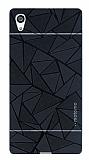 Motomo Prizma Sony Xperia Z5 Metal Siyah Rubber Kılıf