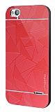 Motomo Prizma Turkcell T60 Metal Kırmızı Rubber Kılıf