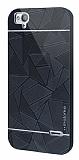 Motomo Prizma Turkcell T60 Metal Siyah Rubber Kılıf