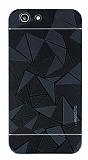 Motomo Prizma Turkcell T70 Prizma Metal Siyah Rubber Kılıf