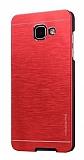 Motomo Samsung Galaxy A3 2017 Metal Kırmızı Rubber Kılıf