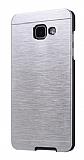 Motomo Samsung Galaxy A5 2017 Metal Silver Rubber Kılıf