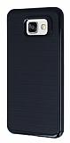 Motomo Samsung Galaxy A7 2016 Siyah Kenarlı Siyah Silikon Kılıf