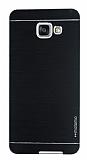 Motomo Samsung Galaxy A7 2016 Metal Siyah Rubber Kılıf