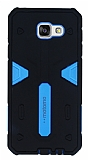 Motomo Samsung Galaxy A7 2016 Ultra Koruma Mavi Kılıf