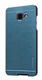 Motomo Samsung Galaxy A7 2017 Metal Lacivert Rubber Kılıf