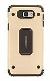 Motomo Samsung Galaxy A7 2017 Ultra Koruma Gold Kılıf