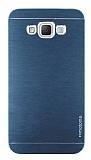 Motomo Samsung Galaxy Grand Max Metal Lacivert Rubber Kılıf