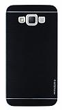 Motomo Samsung Galaxy Grand Max Metal Siyah Rubber Kılıf