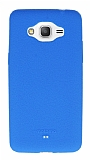 Motomo Samsung Galaxy Grand Prime / Prime Plus Mavi Silikon Kılıf