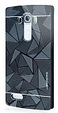 Motomo Prizma LG G4 Metal Rubber Siyah Kılıf