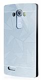 Motomo Prizma LG G4 Metal Rubber Silver K�l�f