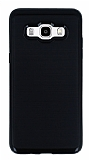 Motomo Samsung Galaxy J5 2016 Siyah Kenarlı Siyah Silikon Kılıf
