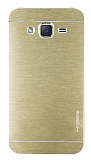 Motomo Samsung Galaxy J2 Metal Gold Rubber Kılıf