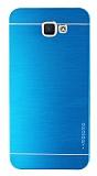 Motomo Samsung Galaxy J5 Prime Metal Mavi Rubber Kılıf