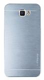 Motomo Samsung Galaxy J5 Prime Metal Silver Rubber Kılıf