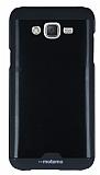 Motomo Round Samsung Galaxy J7 Metal Siyah Rubber Kılıf