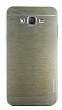 Motomo Samsung Galaxy J7 Metal Gold Rubber Kılıf