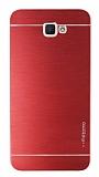 Motomo Samsung Galaxy J7 Prime Metal Kırmızı Rubber Kılıf
