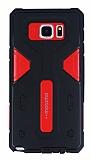 Motomo Samsung Galaxy Note 5 Ultra Koruma Kırmızı Kılıf