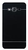 Motomo Samsung Galaxy On5 Metal Siyah Rubber Kılıf