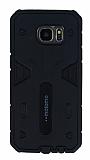 Motomo Samsung Galaxy S7 Edge Ultra Koruma Siyah Kılıf