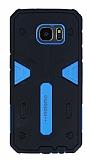Motomo Samsung Galaxy S7 Edge Ultra Koruma Mavi Kılıf