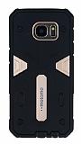 Motomo Samsung Galaxy S7 Edge Ultra Koruma Gold Kılıf