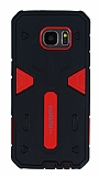 Motomo Samsung Galaxy S7 Edge Ultra Koruma Kırmızı Kılıf