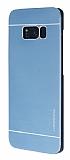 Motomo Samsung Galaxy S8 Metal Lacivert Rubber Kılıf
