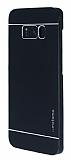 Motomo Samsung Galaxy S8 Plus Metal Siyah Rubber Kılıf