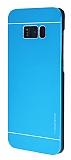 Motomo Samsung Galaxy S8 Plus Metal Mavi Rubber Kılıf