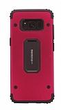 Motomo Samsung Galaxy S8 Ultra Koruma Kırmızı Kılıf