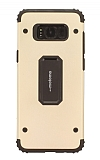 Motomo Samsung Galaxy S8 Ultra Koruma Gold Kılıf
