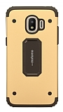 Motomo Samsung Grand Prime Pro J250F Ultra Koruma Gold Kılıf