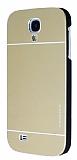 Motomo Samsung i9500 Galaxy S4 Metal Gold K�l�f