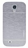 Motomo Samsung i9500 Galaxy S4 Metal Gri K�l�f