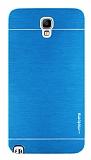 Motomo Samsung N7500 Galaxy Note 3 Neo Metal Mavi K�l�f